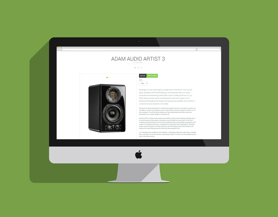 Federal Audio Shopify Theme